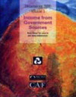 The Income from Government Sources- Best Value for Care in: 2000, Volume 1
