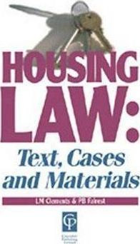 Cases and Materials on Housing Law