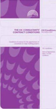 The CIC Consultants' Contract Conditions