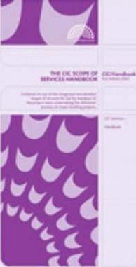 The CIC Scope of Services Handbook