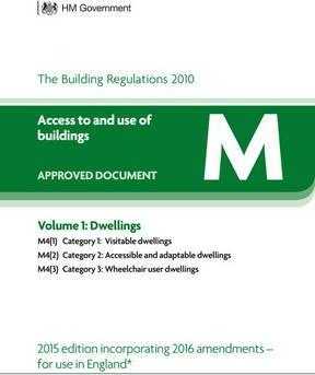 Approved Document M: Volume 1: Dwelling