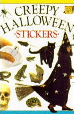 Creepy Halloween Sticker Fun