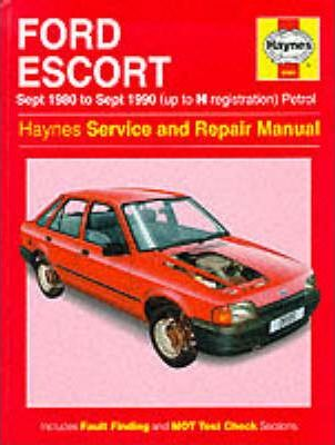 Ford Escort (Petrol) 1980-90 Service and Repair Manual