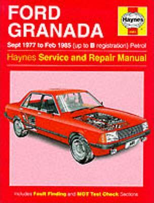 Ford Granada 1977-85 Service and Repair Manual