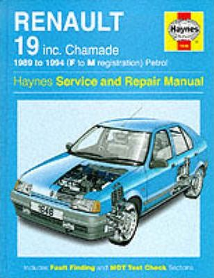 Renault 19 (Petrol) Service and Repair Manual