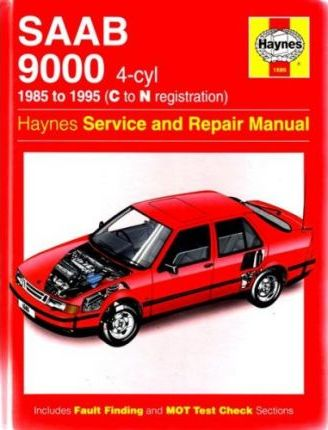 Saab 9000 (4-Cyl) Service and Repair Manual