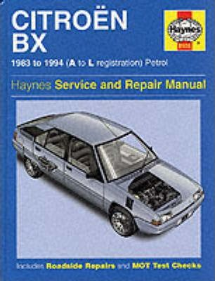 Citroen BX Service and Repair Manual