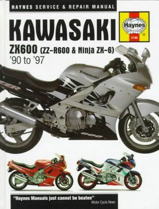 Kawasaki ZX600 (ZZ-R600 and Ninja ZX-6) Fours Service and Repair Manual