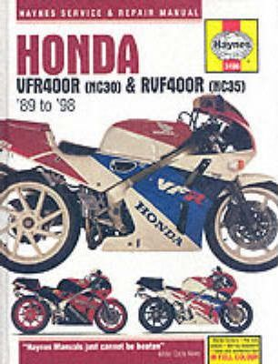 Honda VFR400 and RVF400 V-fours, 1989-97