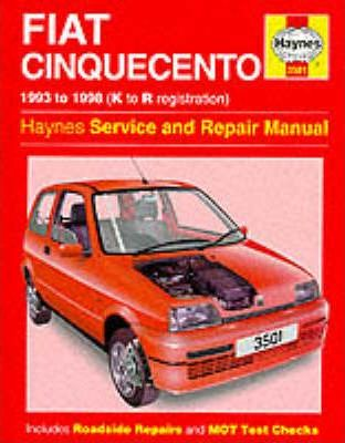 fiat cinquecento service and repair manual steve rendle rh bookdepository com 2001 Fiat Seicento fiat seicento owners manual
