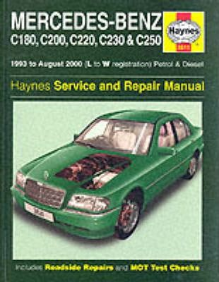 mercedes benz c class petrol and diesel 1993 2000 service and rh bookdepository com 2015 Mercedes-Benz C-Class 2014 Mercedes-Benz C-Class