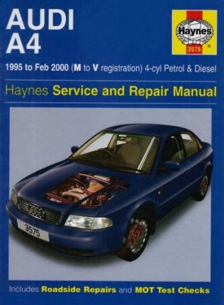 Audi A4 (4-cylinder) Service and Repair Manual