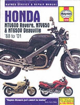 Honda NTV600 Revere, NTV650 and NT650 Deauville Service and Repair Manual