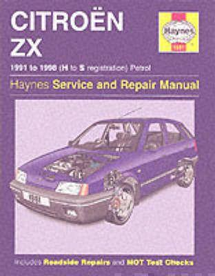 citroen zx petrol service and repair manual mark coombs rh bookdepository com citroen zx service manual pdf Citroen CX