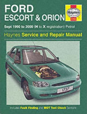For Ford escort service