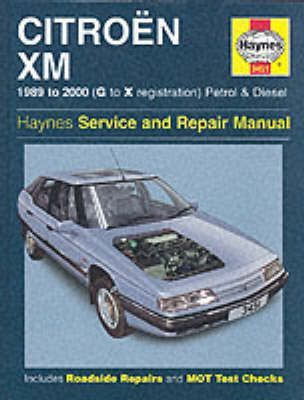 Citroen XM Service and Repair Manual