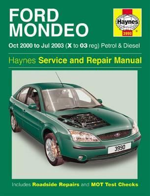 ford mondeo petrol diesel oct 00 jul 03 x to 03 haynes rh bookdepository com Ford Mondeo Interior 2005 Ford Mondeo
