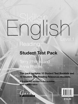 Reading: Student Test Pack Level 1