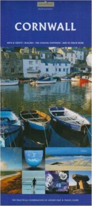 Cornwall Touring Map and Travel Guide