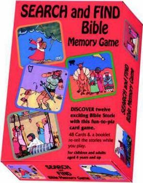 Seek-and-Find Bible Memory Game
