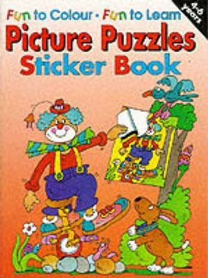 Picture Puzzles Sticker Book