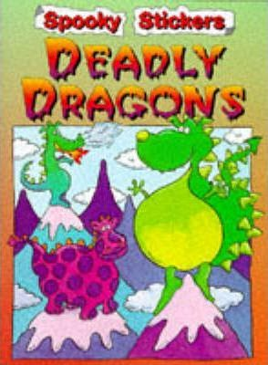 Spooky Stickers: Deadly Dragons