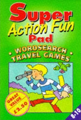 Super Action Fun Pad: Travel Games AND Wordsearch