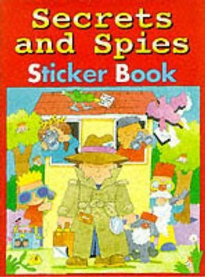 Secrets and Spies Sticker Book
