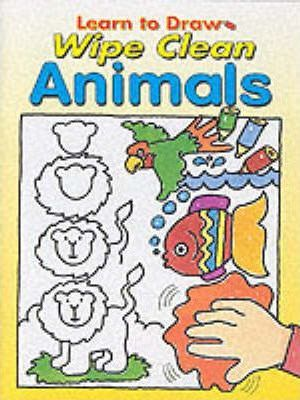 Learn to Draw Wipe Clean:Animals