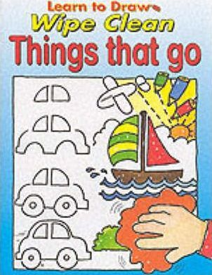 Learn to Draw Wipe Clean:Things That Go