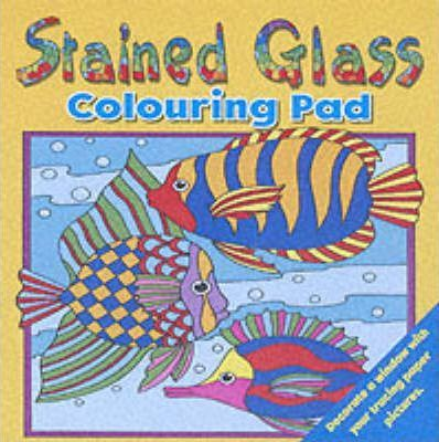 Stained Glass Colouring Pad 1