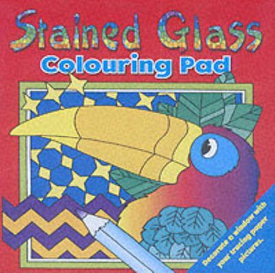 Stained Glass Colouring Pad 2