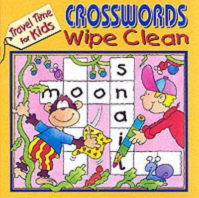Travel Time Wipe Clean Crosswords