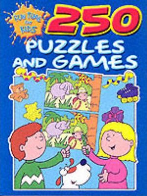 250 Puzzles and Games: Dark Blue Edition