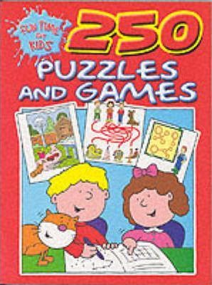 250 Puzzles and Games: Red Edition