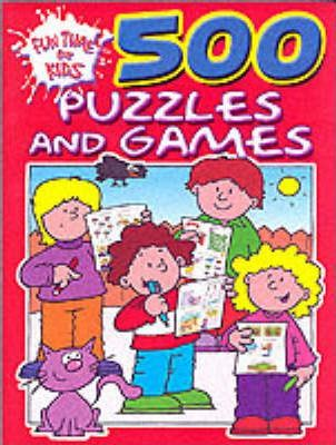 500 Puzzles and Games