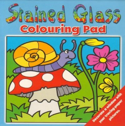 Stained Glass Colouring Pad - Stain