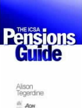 The ICSA Pensions Guide