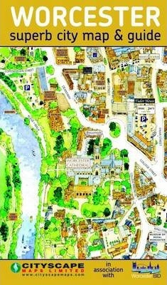Worcester City Centre Map and Guide