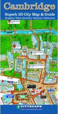 Cambridge Superb 3D City Map and Guide
