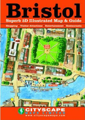 Bristol Superb 3D Illustrated Map and Guide