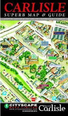 Carlisle City Centre Map and Guide
