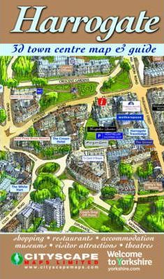 Harrogate 3D Town Centre Map Guide
