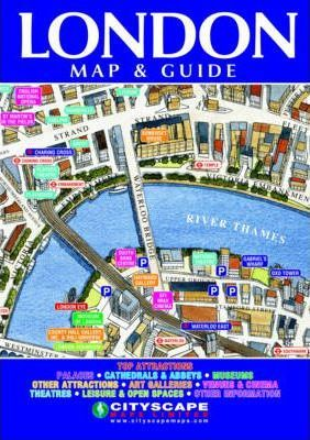 London Superb 3D-illustrated Map and Guide