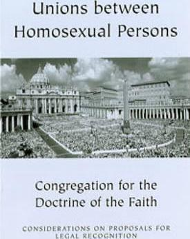 Unions between Homosexual Persons