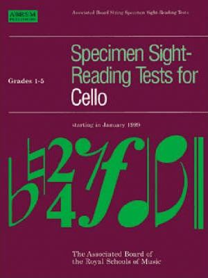 Specimen Sight-Reading Tests for Cello: Grades 1-5
