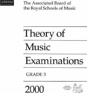 Theory of Music Examinations 2000: Grade 3