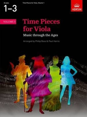Time Pieces for Viola, Volume 1  Music through the Ages in Two Volumes