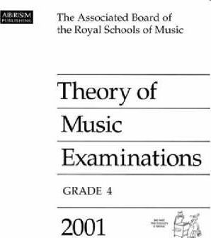 Theory of Music Examinations 2001: Grade 4