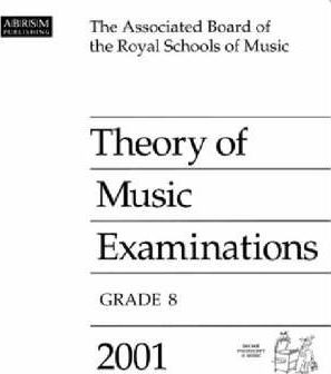 Theory of Music Examinations 2001: Grade 8